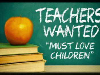 Hledáme nové učitele angličtiny