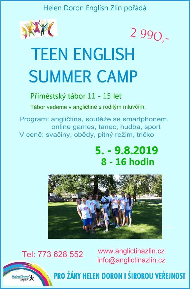 Příměstské tábory s angličtinou – léto 2019