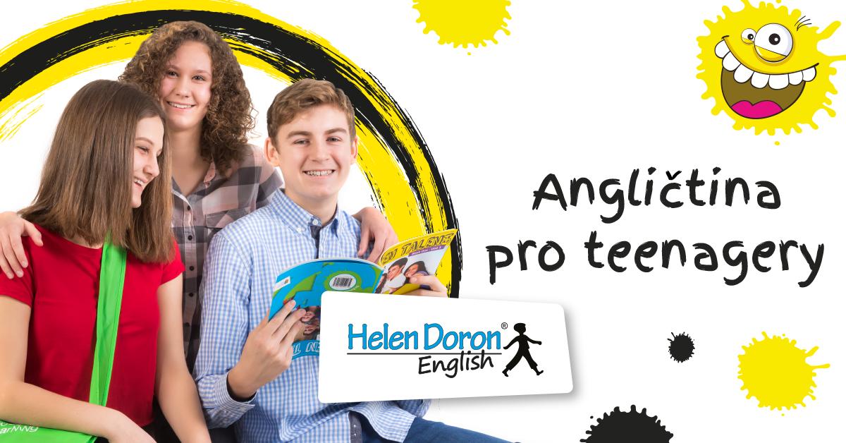 Kurz angličtiny pro děti od 11 let – Teen Talent