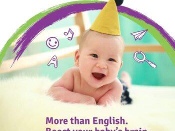 Výuka angličtiny pro děti od 9  do 18 měsíců – ZAHÁJENÍ – čtvrtek 21.5.2020 ve 14:00