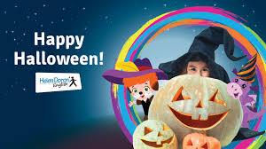 Halloween party 1.11.2019 s přespáním v naší škole – Helen Doron Zlín