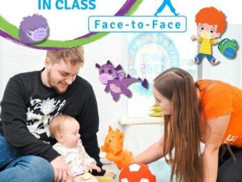 Výuka angličtiny pro děti od 9  do 18 měsíců – POSLEDNÍ 2 MÍSTA!!!
